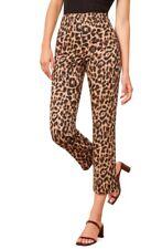 Reformation Marlon Pants, Leopard, Size 4