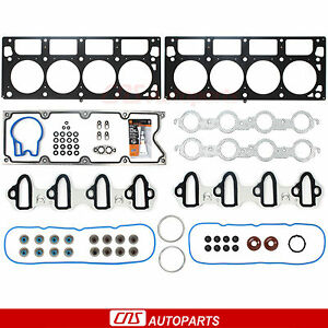 MLS Head Gasket Set RTV Silicone For 04-07 GM 364 Cadillac Chevy GMC Hummer 6.0L