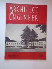Feb 1953 Architect and Engineer San Francisco CA San Mateo County Sanatorium