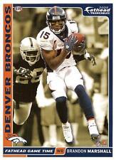 Brandon Marshall Broncos Bears Fathead Tradeable 2008 NFL G35