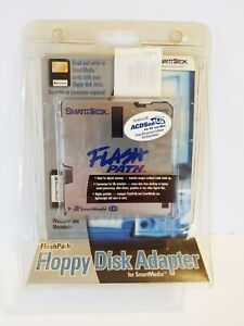 SmartDisk Flash Path Floppy Disk Adapter for SmartMedia New Sealed w CD Guide