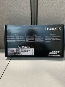 Lexmark C734X24G Photoconductor 4 Pieces - Multicolor