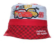 Disney Cars Lightning McQueen Baby Boy Girl Sun Hat Cap Bucket Hat Red 50 Cm