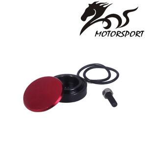 Rear Wiper  Kit Block Off Plug Cap for Honda - Red