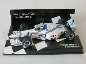 J. MAGNUSSEN 1997 Stewart Ford SF1 Paul's Model Art Minichamps F1 1:43