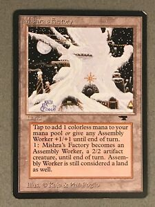 MTG Mishra's Factory Winter 1994 Antiquities x1 LP