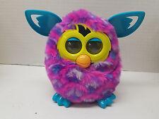 2012 Hasbro Furby Boom Bright Pink Purple Aqua Peacock Interactive Plush Toy