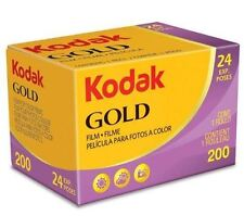 Kodak Gold 200 135-24 Film (Single Roll, 35mm, 24 exposure, ISO 200) New