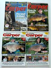 4 x Crafty Carper Magazines - Oct & Nov 2002 - Nov 2010 - Apr 2012