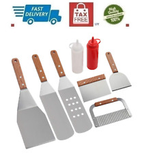 Romanticist 8Pc Professional Bbq Griddle Accessories Kit in Gift Box - Heavy.