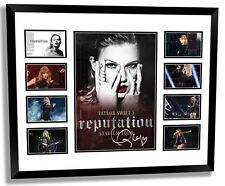TAYLOR SWIFT 2018 REPUTATION TOUR SIGNED LIMITED EDITION FRAMED MEMORABILIA #4
