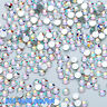 1440pcs DIY Nail Art Tips Charm Gems Crystal Glitter Rhinestones 3D Decor Lots