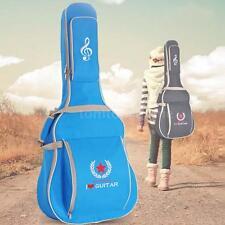 "Blue Padded Guitar Bag Gig Case for 41"" Acoustic Classic Folk Guitar W8P9"