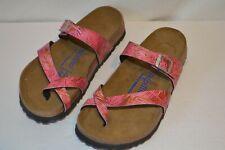 Birkenstock Papillio Tabora Leather Sandals Women Sz 6-6.5 /37