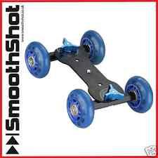 CAMERA DOLLY CAR WHEEL SKATER ROLLER SLIDER FOR VIDEO CAMERAS DSLR CAMCORDER
