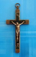 #3055# Vintage/ Médaille Croix religieuse/ Insigne pendentif. Insigne Chrétien