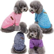 Dog Cat Warm Fleece Coat Jacket Clothes Shirt Puppy Pet Sweater Winter Apparel