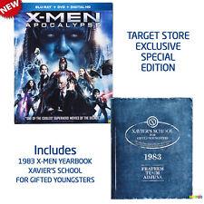 X-MEN: Apocalypse Blu-Ray + DVD + Digital HD UltraViolet Movie 1983 YearBook NEW