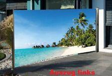 Nativ Seitenmarkise mit Fotodruck, 180 cm hoch Sichtschutz Windschutz mit Motiv