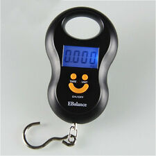 Digital Luggage Fishing Scale 50kg 10g Mini Portable Hook Hanging Electronic LCD