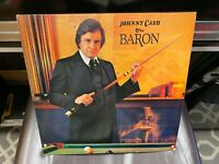 Johnny Cash The Baron LP Columbia 1981 EX SIGNED AUTOGRAPHED