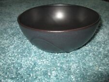 "RARE!! DANSK Origami round vegetable bowl in slate 8 ¾"".  EUC!"