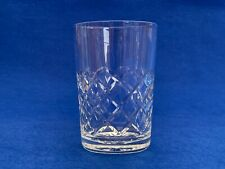 More details for vintage thomas webb dennis diamonds crystal juice glass  - more than 1 available
