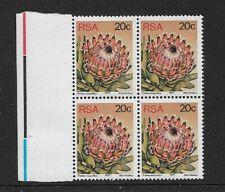 1977 South Africa - Succulents - Block of Four - Unmounted Mint.