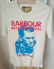 """T-shirt BARBOUR """"Steve Mc Queen Colletion"""". Taglia S."""