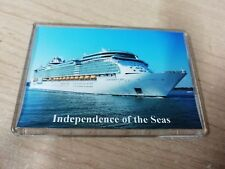 Royal Caribbean INDEPENDENCE OF THE SEAS Large Fridge Magnet Cruise Ship a