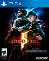 PLAYSTATION 4 PS4 GAME RESIDENT EVIL 5 HD BRAND NEW AND SEALED