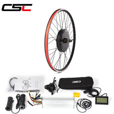 Ship From US electric bicycle Conversion Kit 48V 1500W rear Motor Wheel 26inch