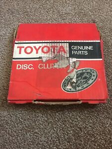 Toyota MR2 AW11 1a Corolla AE82 GT Clutch Disc 31250-17010 Genuine New Old Stock