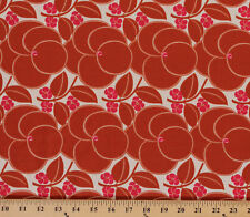 Cotton Amy Butler Hapi Heart Bloom Flowers Cotton Fabric Print BTY D302.11
