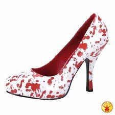 BloodyJuliet Pumps Funtasma weiße Damenpumps Schuhe Helloween Horror Zombie Blut