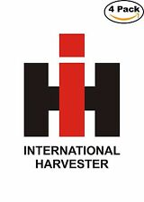 International Harvester Agricultural Machinery Decal Diecut Sticker 4 Stickers