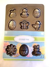 Easter Cookie Pan Sweet Creations 12 Cavity NEW Bradshaw Good Cook Bunny Egg