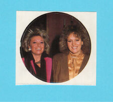 Elaine Paige & Barbara Dickson Chart Toppers Pop Rock Music Sticker