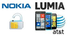 AT&T UNLOCK CODE for NOKIA Lumia. MOST BEST RATE