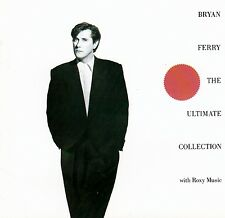 BRYAN FERRY : THE ULTIMATE COLLECTION - WITH ROXY MUSIC / CD (EG RECORDS EGCTV2)