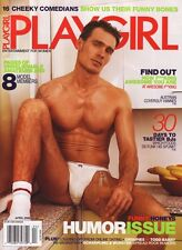 PLAYGIRL April 2006 NUDE COMEDIANS Jayson Cross MARCUS MARTIN more BRANDON ELKO