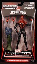"2014 HASBRO MARVEL LEGENDS INFINITE SERIES SUPERIOR SPIDER-MAN 6"" FIGURE MOC"