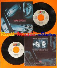 LP 45 7'' INKER & HAMILTON Dancing into danger Guardian angel 1987 WEA cd mc dvd