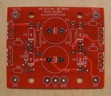 DIY PCB - MOSFET source follower buffer for class-A2 drive