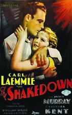 Carl Laemmle The Shakedown 1929 movie poster print