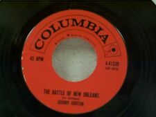 "JOHNNY HORTON ""THE BATTLE OF NEW ORLEANS / ALL FOR THE LOVE OF A GIRL"" 45"