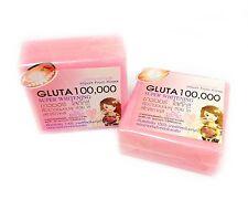 2 Bar 100000 GLUTATHIONE SOAP SKIN WHITENING BLEACHING LIGHTENING SMOOTHEN SOFT