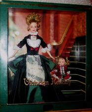 2000 MATTEL LIMITED EDITION BARBIE & KELLY DOLLS VICTORIAN HOLIDAY AGE 14+
