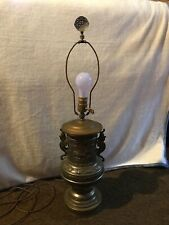New listing Antique Brass Dragon Table Lamp