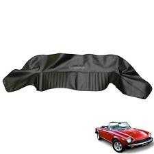 Fiat 124 Spider CS1, CS2 Convertible top Boot Cover 1966-1983 Black Vinyl
